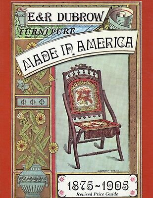 1875-1905 Victorian Furniture – Models Dates Dimensions Etc / Book + Values