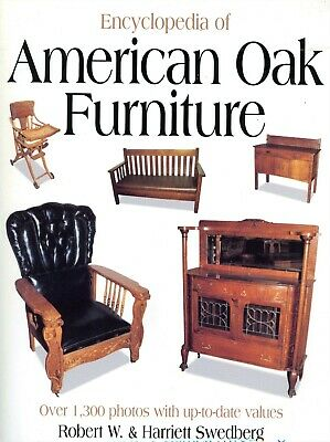 Antique American Oak Furniture Types (1,300+ Photos) / Encyclopedia Book + Value