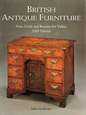 British Antique Furniture Types (1,250+ Photos) / Encyclopedia Book + Values