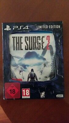 The  Surge 2 limited  edition ps4 con poster e card