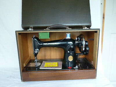 "Vintage Singer 201K Sewing Machine 1950   ""Working"""