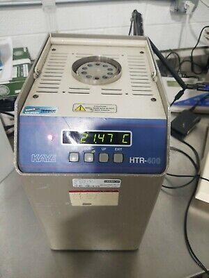 GE Kaye Instruments HTR-400 Temperature Bath 30C to 400C Dry Well Amphenol