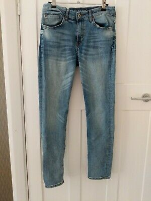 Boys Blue Jeans Super Stretch Skinny Fit By H&M Age 13-14. Adjustable waist