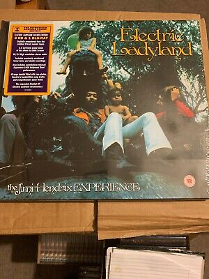 Jimi Hendrix Experience : Electric Ladyland: 50th Anniversary Box Cd Please Read