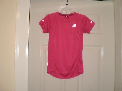 """T-Shirt """" Karrimor """"RUN Pink Colour Size: Age:13  Years,Eur 158  Used"""