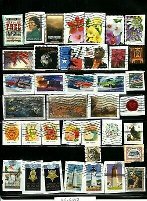 38 UNITED STATES USED  STAMPS  YEAR 2013, 3 SETS, Lot US-3093