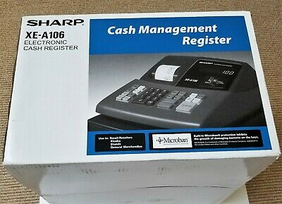 NEW Sharp XE-A106 Electronic Cash Register with key LED Display