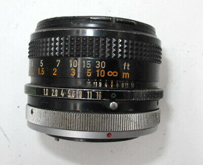 *Classic* Canon Fd 50Mm F1.8 S.c. Prime Lens. For Ae-1, A1, Ae-1P !!Cheap!!