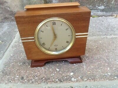 Retro 60's Vintage Elliott  Mantel Clock!
