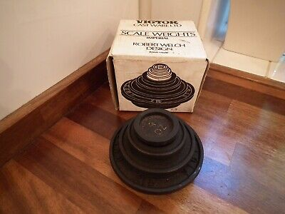 Victor Cast Ware Ltd Robert Welch Design Imperial Scale Weights - Part Set