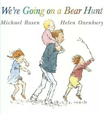 We're Going on a Bear Hunt by Michael Rosen (Paperback) RRP £6.99 ! Brand New