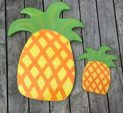 Happy Everything Coton Colors Pineapple Big & Mini Attachments 2012 Large Small