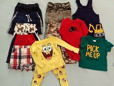 12 Month Baby Boy Clothes Lot