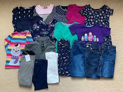 Girls' clothing bundle, age 5-6, Frugi, Boden, M&S, 18 items