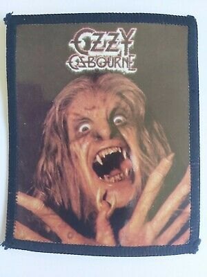 Ozzy Osbourne - Bark At The Moon Retro 80's Patch