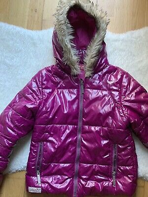 Girls Jacket Pink Size 6-7 Firetrap Waterproof Warm