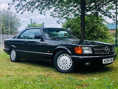 1990 Mercedes-Benz 560 Sec C126 Coupe - Stunning Value