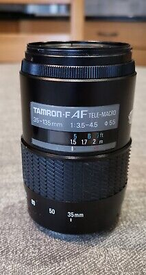 Tamron 35-135 AF lens Sony A mount - sold as seen