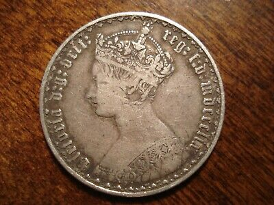 1859 Great Britain Gothic Florin