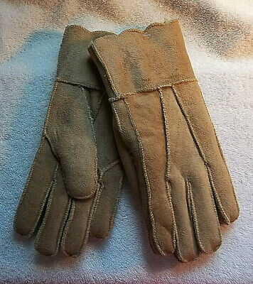 Scalloped Suede Gloves No Combined Shipping Discounts Women's Fits Most Acrylic