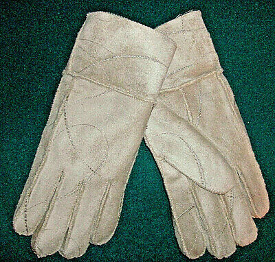 Fancy Stitching Suede Gloves No Combined Shipping Discounts Womens Acrylic
