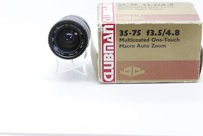 Clubman 35-75mm f3.5-4.8 For Canon FD Made In Japan (K8501349) BOXED