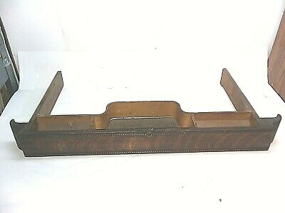 Vintage Singer Treadle Sewing Machine Ornate Molding Top Middle Drawer