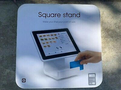 Square Stand for iPad, Cash Register, Terminal Credit Card Reader iPad 2,3 NEW