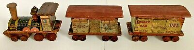 Bliss Wooden Train Set – from 1890's