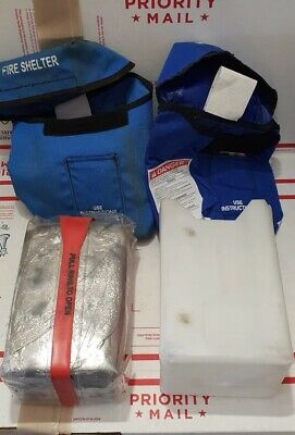 Fire Shelter Wildland comes with extra new BLUE case Wild Land Regular Size