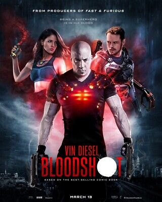 Bloodshot (2020,Dvd,Release) An Immortal Never Dies,Free Shipping...
