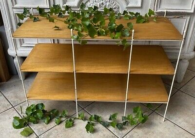 Old String Shelf Stehregal With Thin Shelves 60er 86x36 60cm High