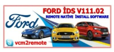 for Ford IDS 117.01+(Online+Offline) Calibration Native Install with Remote Supp