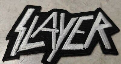 Slayer Embroidered Iron On Patch Or Sew On