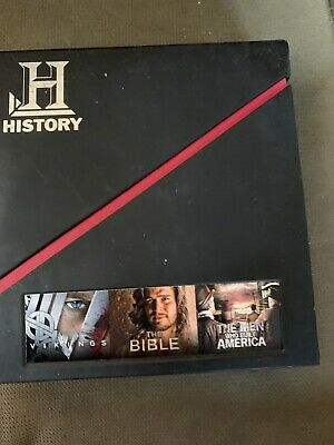 2013 FYC DVD HISTORY CHANNEL LIKE NEW-Vikings-the Bible-Men who built America
