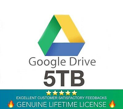 Google Drive 5TB Lifetime Account - Custom Login (Instant Delivery)