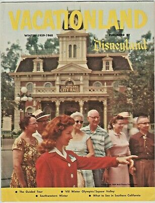 "Disneyland ""Vacationland"" Winter 1959 - 1960"