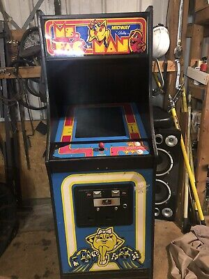 ms pac man arcade machine