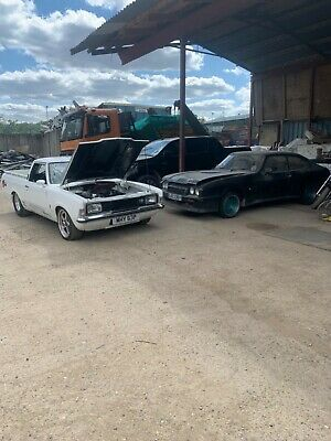 Ford Capri 2.0S 1982 Rare Double X Pack Kit Useable Classic Project 205 Block