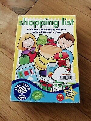 Orchard Toys Shopping List Family Game