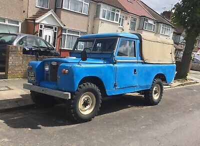 Land Rover Series 2a 1968 109 pick-up - historic vehicle, MOT and ULEZ exempt