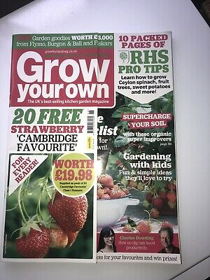 Grow Your Own Magazine June 2020 Mint Condition
