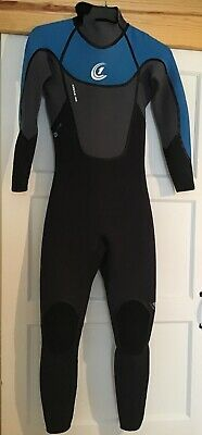 Circle One Small Man's Winter Icon Steamer Wetsuit In Excellent Condition