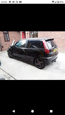 1998 Fiat Punto GT Turbo 2.0 16vt Abarth Spares Repair Project