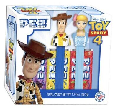 TOY STORY 4  Pez Dispenser/'s 2 Pack Carded 4 Rolls of Candy BUZZ 7 MINI ALIEN