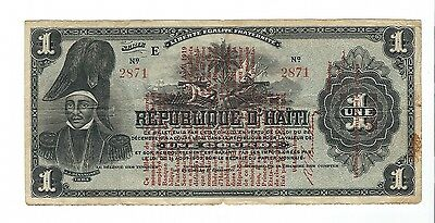 Haiti - One (1) Gourde  1919