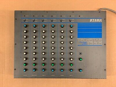 Tama Techstar TS-305 Analog Electronic 6 Voice Module Drum Machine Synthesiser