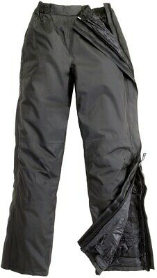 Trousers Waterproof Padded by Bike Scooter Openable Tucano Urbano 536 Black