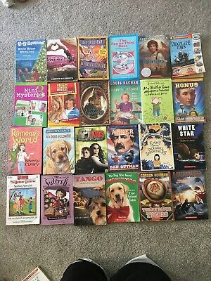 Lot Of 24 Young Adult & Kids Chapter Books