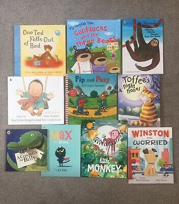 L@@K.. 10 Large Children's Picture Story Books Bundle  (Preschool, Early Years)